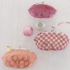 Crochet×Bead purse (NIHON VOGUE CO.,LTD_Knitting)