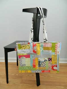 s.o.t.a.k handmade: patchwork tote