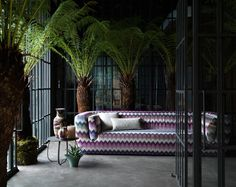 Spence and Lyda Surry Hills Missoni Home #palmtree #design #interior // Ethnic Chic