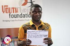 Meet Orazulike from Nigeria! His priority is education.    What are your priorities in the post-2015 development agenda?   The Post-2015 Consensus youth forums are a platform for young people around the globe to express their top development priorities for the world for next 15 years! For more information visit www.post2015consensus.com/youth-forum