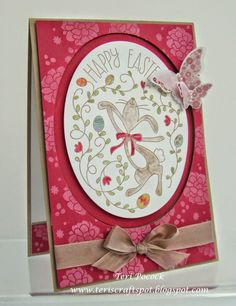 Happy Easter Bunny - Spinner Card
