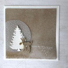 Papier-Liebelei: Leise rieselt der Schnee...