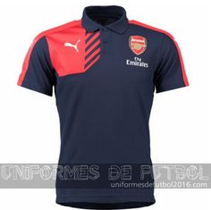 Venta de Camisetas polo negro Arsenal 2015-16 $23.90