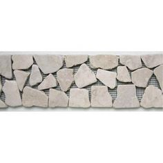 MS International Verde Amazonia 4 in x 4 in Tumbled Marble Floor