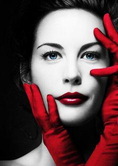 red woman kırmızı