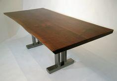 custom- live-edge dining tables