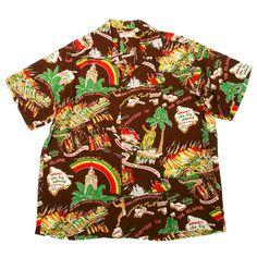 0e910e6b Sun Surf vintage shirts SS33324 Hawaiian History of the Islands Shirt  Hawaiian Print Shirts, Mens