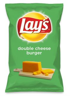 Wouldn't double cheese burger be yummy as a chip? Lay's Do Us A Flavor is back, and the search is on for the yummiest chip idea. Create one using your favorite flavors from around the country and you could win $1 million! https://www.dousaflavor.com See Rules.