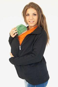 Chaqueta lactancia y porteo Anika - Tetatet - Camisetas de Lactancia y Vestidos de Lactancia