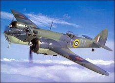 After pursuing his quarry for many miles, the Italian broke contact. The Blenheim was left with smoke pouring from the destroyed engine and only about 30 metres above sea level; she continued towards Grand Harbour, then turned and headed south. Military Humor, Military History, Bristol Blenheim, Bristol Beaufighter, Gun Turret, Aircraft Parts, Landing Gear, Aircraft Design, World War Two