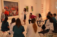 DIFFERENT VIEW: Using art to rethink a medical diagnosis at the Fine Art of Health Care workshop at the Lowe Art Museum. Sandy Skoglund, Fox Games, Baroque Painting, University Of Miami, Expressive Art, Medical Students, Science Art, Community Art, Art Therapy