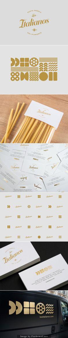 Los Italianos | Pasta Fresca | #branding #identity #design