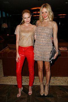 Kate Bosworth and Chloe Sevigny