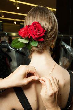 !!! Red Roses !!!                                                             Dolce & Gabbana Spring 2015