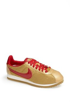 I want, need! 49er fan! Nike 'Classic Cortez - Year of the Horse' Sneaker (Women) available at #Nordstrom