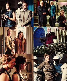 Catching Fire. Stop. It needs to come faster. Ooh and is that the Victor house that Prim and Mrs. Everdeen are standing in?