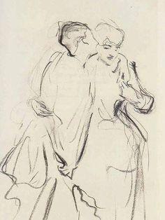 'Whispers', John Singer Sargent, 1884.
