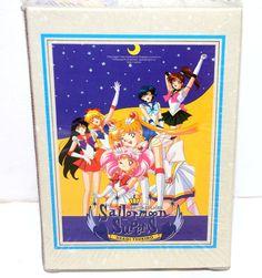 Sailor Moon SuperS Super S vintage jigsaw puzzle 100 piece