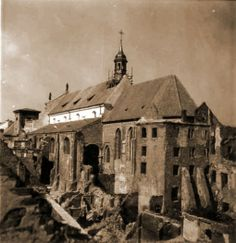 #Klasztor przy ul. Freta kiedyś. #dominikanie #warszawa #warsaw #freta