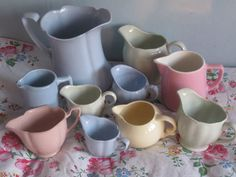 Little Gem's gorgeous jug collection... swoon