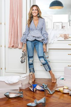 We Want <em>All</em> the Shoes in Sarah Jessica Parker's New Party-Ready Collection