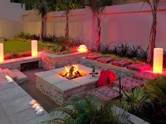 Image Result For Small Gardens Fire Pit