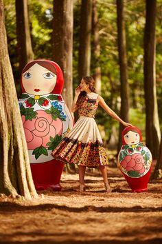 Estampa A Boneca Russa (fonte: http://amoantix.com/blog)