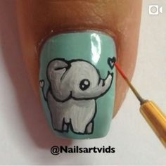 this is by Nailsartvids and she does some really cool nails. and go subscribe to her on youtube.