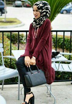 Jaserah ♥ Muslimah fashion & hijab style