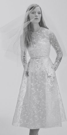 The Prettiest Spring 2017 Wedding Dresses from Bridal Fashion Week | InStyle.com