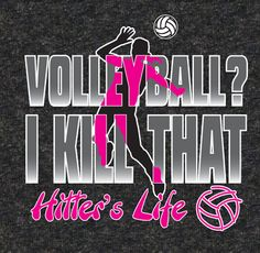 Live the Volleyball Hitter's Life with this sporty dark heather volleyball T-Shirt! * This volleyball design really catches everyone's attention with it's bright neon pink design on our popular dark heather tees! * 100% Pre-Shrunk Cotton - Full Chest Print * And a Neon Pink Name & Number looks great on the back of this tee!