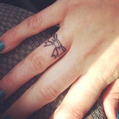 My new finger tattoo