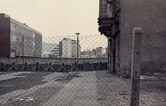 Czech hedgehog antitank obstacles and the Wall