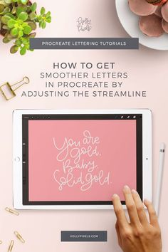 If you& having trouble controlling your lettering, this will show you how to get smoother letters in Procreate. While the glass may be slippery compared to paper, this trick will be the perfect adjustment for your personal preferences. Vintage Typography, Vintage Logos, Retro Logos, Graphics Vintage, Ipad Pro, Illustrator Tutorials, Adobe Illustrator, Do It Yourself Design, Affinity Designer