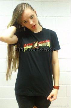 Camiseta de chico M/C Flash Gordon - Logo - Talla XL