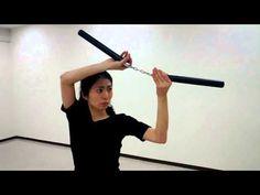 Nunchaku Technique Practice - YouTube