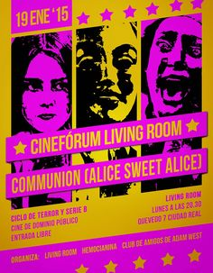 Cinefórum Living Room: Communion (Alice, Sweet Alice)