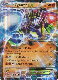 Zygarde EX 54/124 ULTRA RARE - Cards Outlet has FREE SHIPPING on Single Card Orders Over $14.99