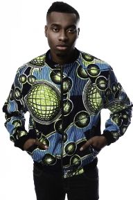 Ohema Ohene - ...FOR THE BOYS: AFRICAN PRINT BOMBER JACKET