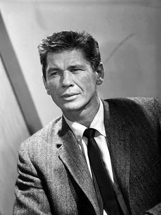 Charles Bronson/••••great character actor, well, maybe not GREAT, but certainly prolific. Lots of guy movies: The Magnificent Seven; Death Wish; Dirty Dozen; The Great Escape