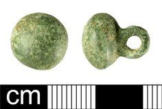BH-E5E4A6: Medieval to post-Medieval button