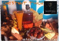 Chesnut touch cocktail de Maremoto Café & Cocktail para Worlclass15.