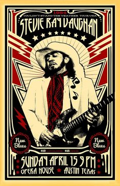 This is my version a poster for a Stevie Ray Vaughan show. The times, dates, and places are real. The artwork is mine. Printed on Premium Glossy Photo Paper with vivid colors and deep blacks. 11 x 17 Steve Ray Vaughan, Beatles, Vintage Concert Posters, Vintage Posters, Rock Band Posters, Tour Posters, Music Posters, Stevie Ray, Stevie Nicks