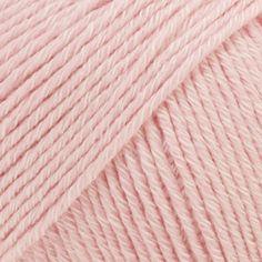 Drops Cotton Merino i Støvet rosa