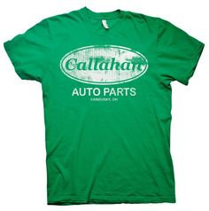 """Callahan Auto Parts """"Tommy Boy"""" Distressed Vintage Style T-shirt"""