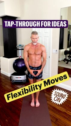 Gym Workout Videos, Gym Workout For Beginners, Fun Workouts, Over 50 Fitness, Fitness Tips, Health Fitness, Martial, Gymnastics Workout, Flexibility Workout