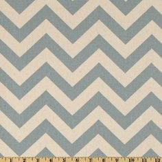 Premier Prints ZigZag Village Blue/Natural - i can imagine a pleated knee length skirt made out of this!