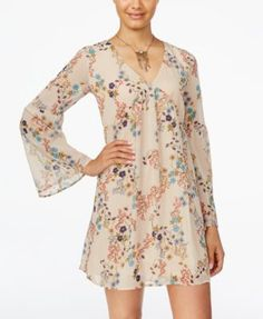 American Rag Printed Shift Dress, Only at Macy's | macys.com