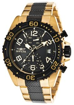 Invicta Men's 13728 Pro Diver Chronograph Carbon Fiber Dial Dark ...