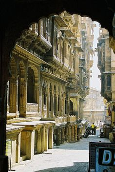 ॐ Jaisalmer, Rajasthan, India- The Worlds only Living Fort, Hinduism architecture 卐